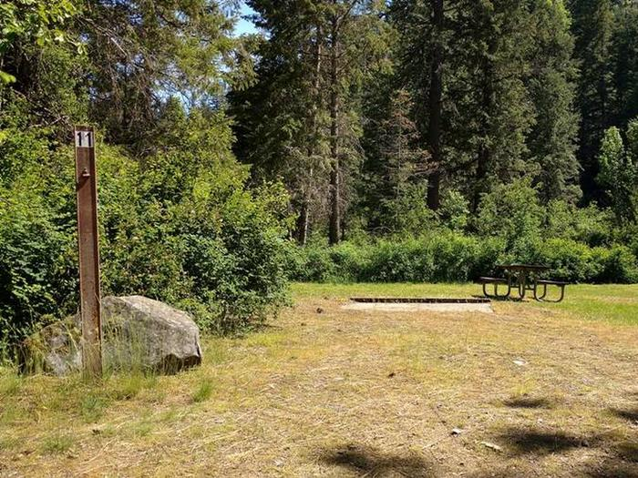 Beauty Creek Campground Site 11