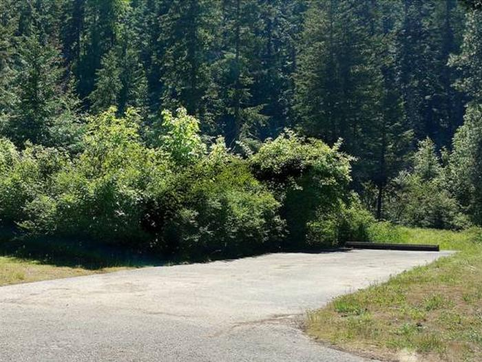 Beauty Creek Campground Site 13