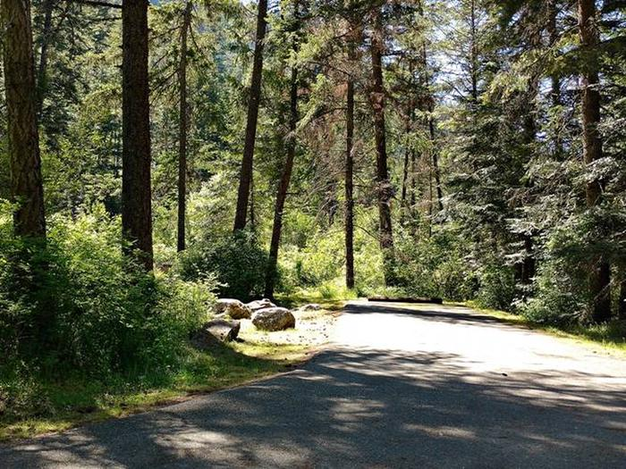 Beauty Creek Campground Site 15
