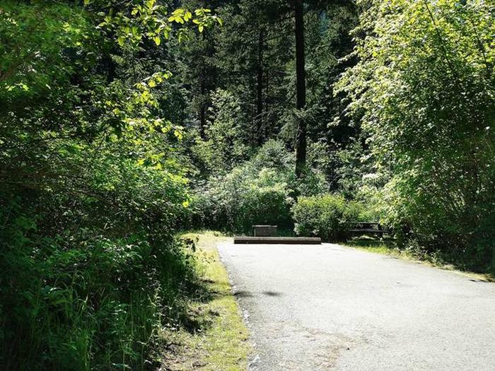 Beauty Creek Campground Site 16