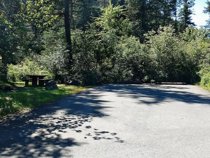 Beauty Creek Campground Site 17