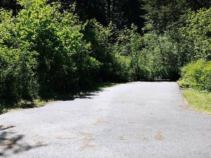 Beauty Creek Campground Site 18