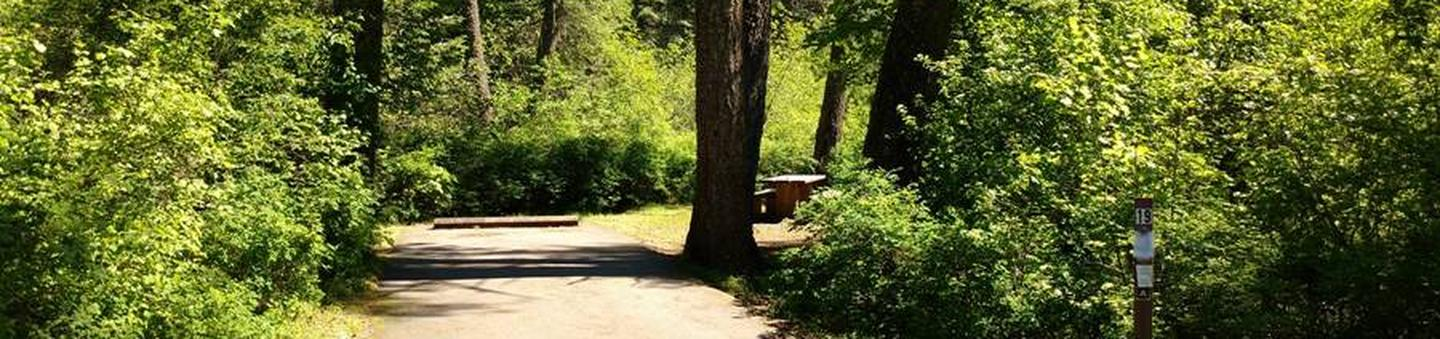 Beauty Creek Campground Site 19