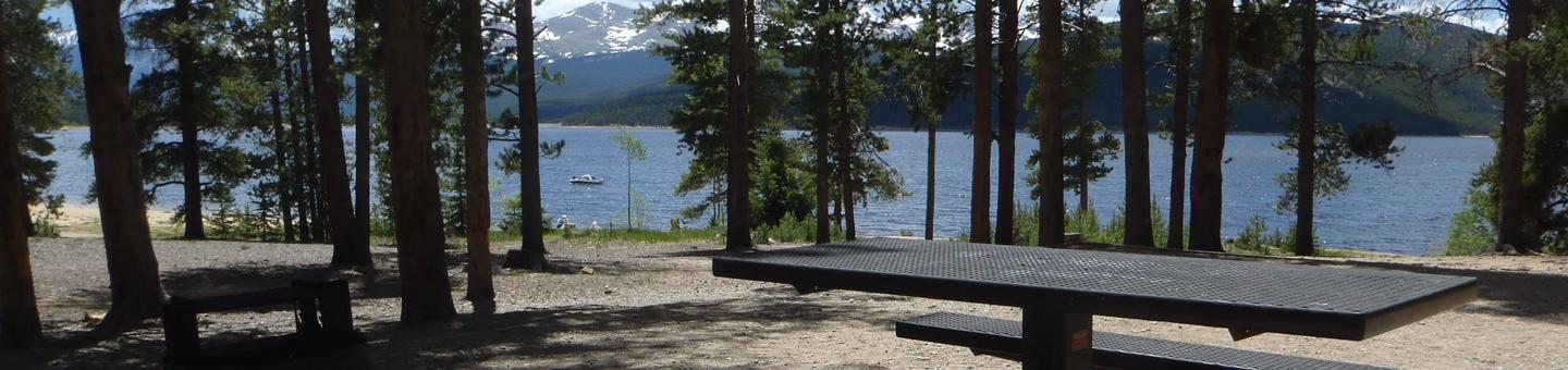 Baby Doe Campground, site 10