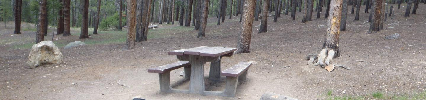 Baby Doe Campground, Site 18
