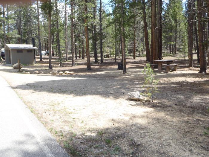 Father Dyer Campground, site 5 parking 2