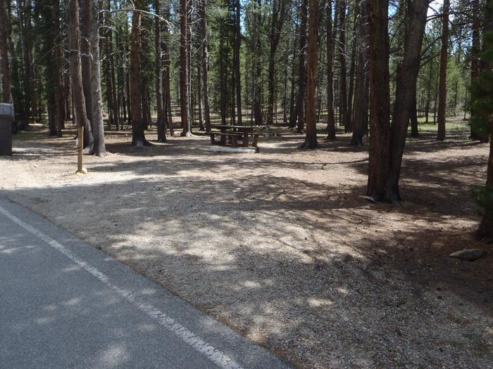 Father Dyer Campground, site 7 parking
