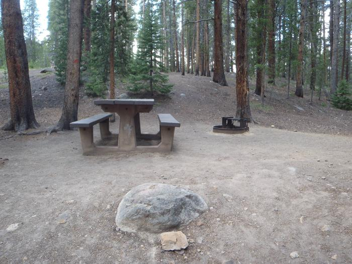 Father Dyer Campground, site 21