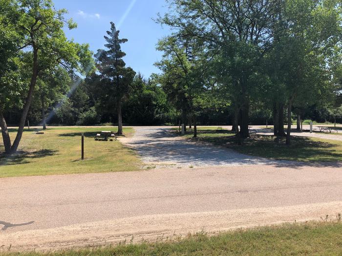 Pull through campsite Site 5