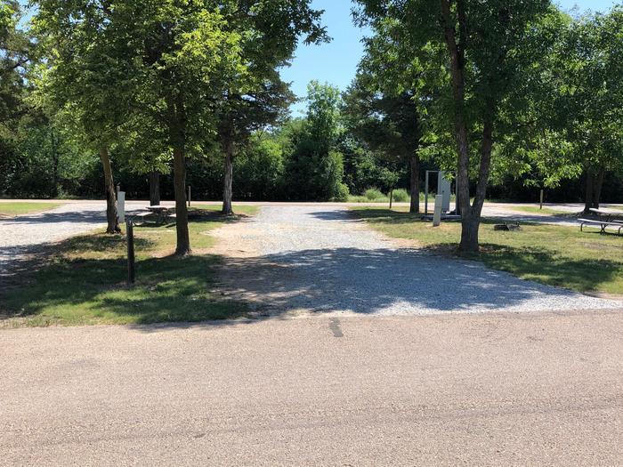Pull through campsite Site 7