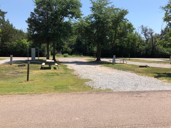 Pull through campsite Site 8