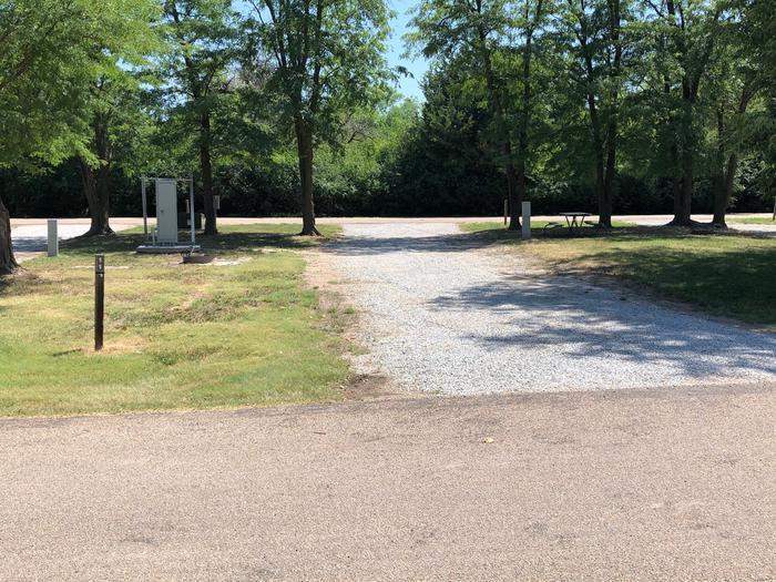 Pull through campsite Site 11