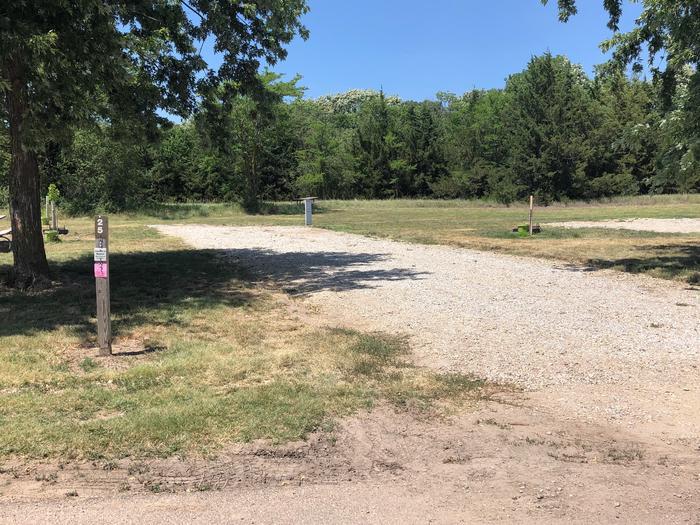 Campsite Site 25