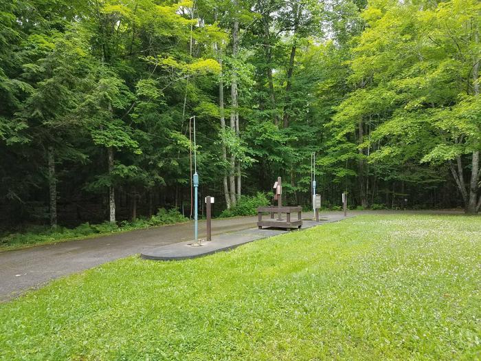 Lake Ottawa Campground RV dump stationLake Ottawa Campground RV dump station.