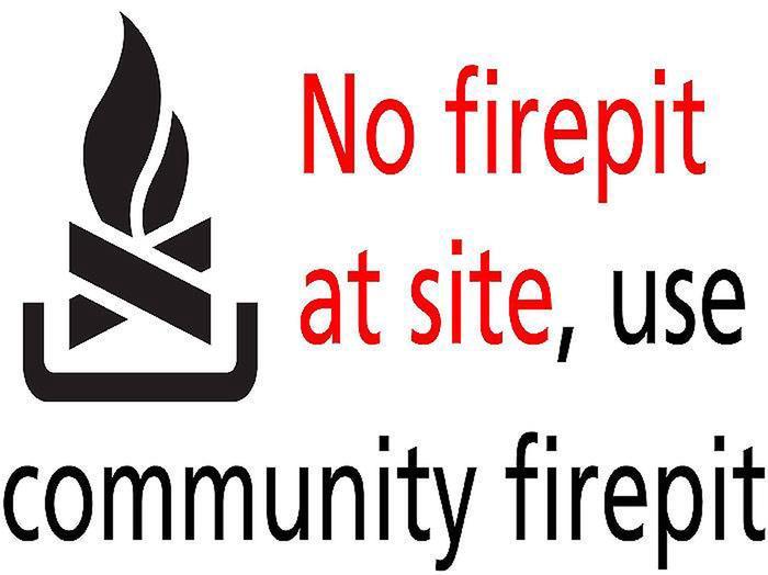 No firepitno firepit