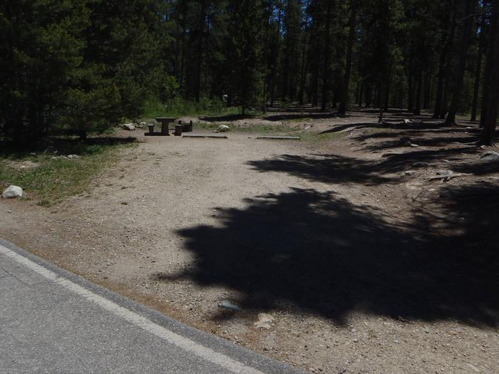 Molly Brown Campground, site 11 parking