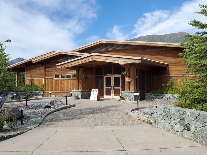 Arctic Interagency Visitor Center EntranceEntrance to the Arctic Interagency Visitor Center