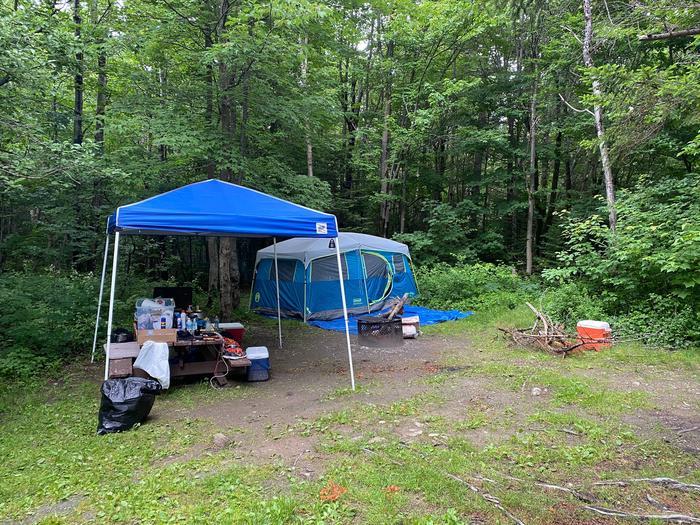 site 13 occupied campsite 13