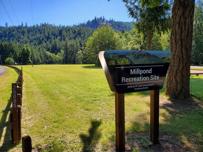 view of fieldsite entrance