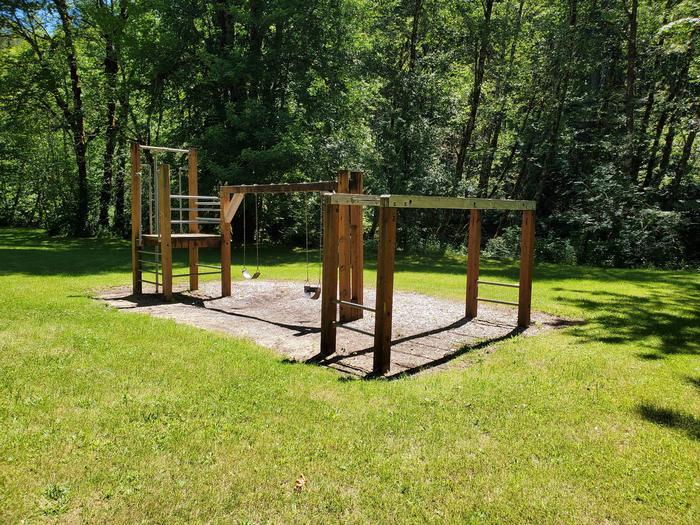 playgroundplayground near pavilion