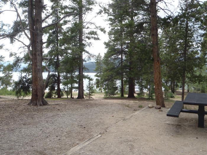 Baby Doe Campground, site 11 view
