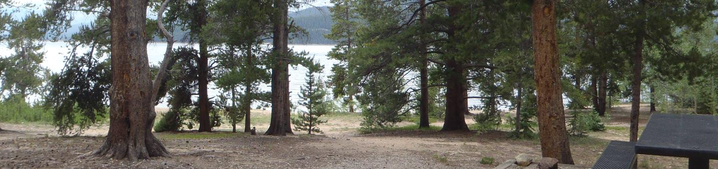 Baby Doe Campground, site 11