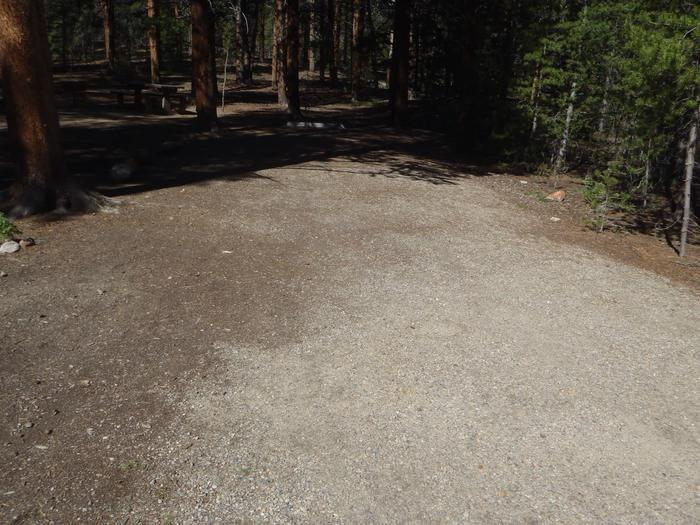 Father Dyer Campground, Site 9 parking