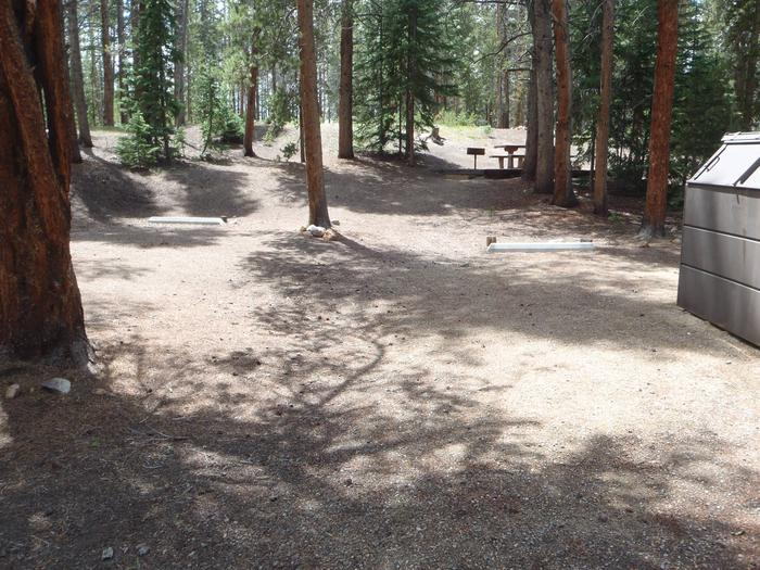Father Dyer Campground, site 22 Parking