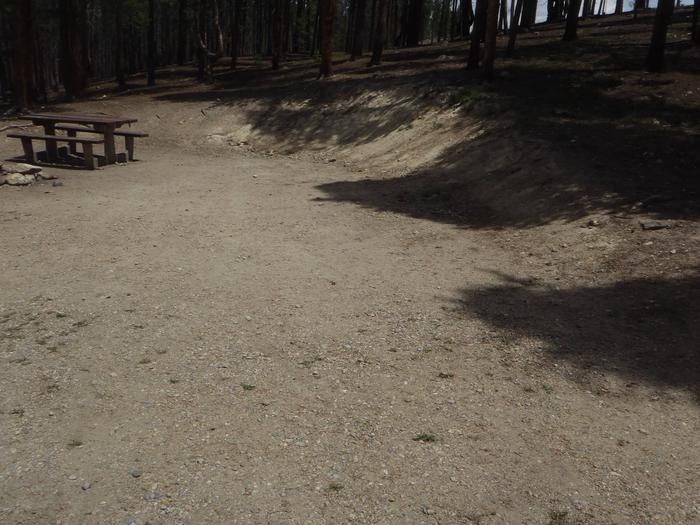 Molly Brown Campground, site 1 parking 2