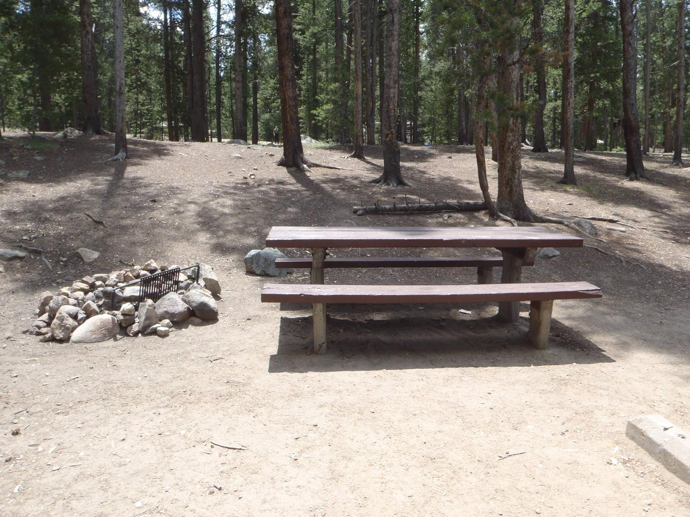 Molly Brown Campground, site 5