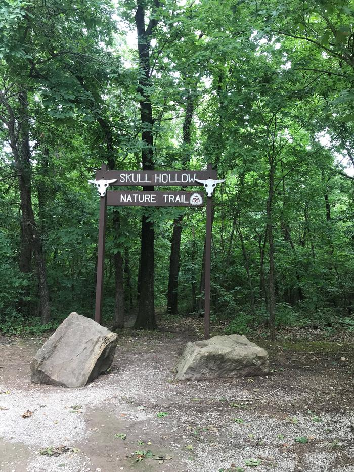 Skull Hollow Nature Trail Entrance Skull Hollow Nature Trail Entrance