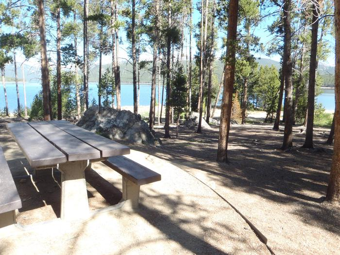 Molly Brown Campground, site 12 view