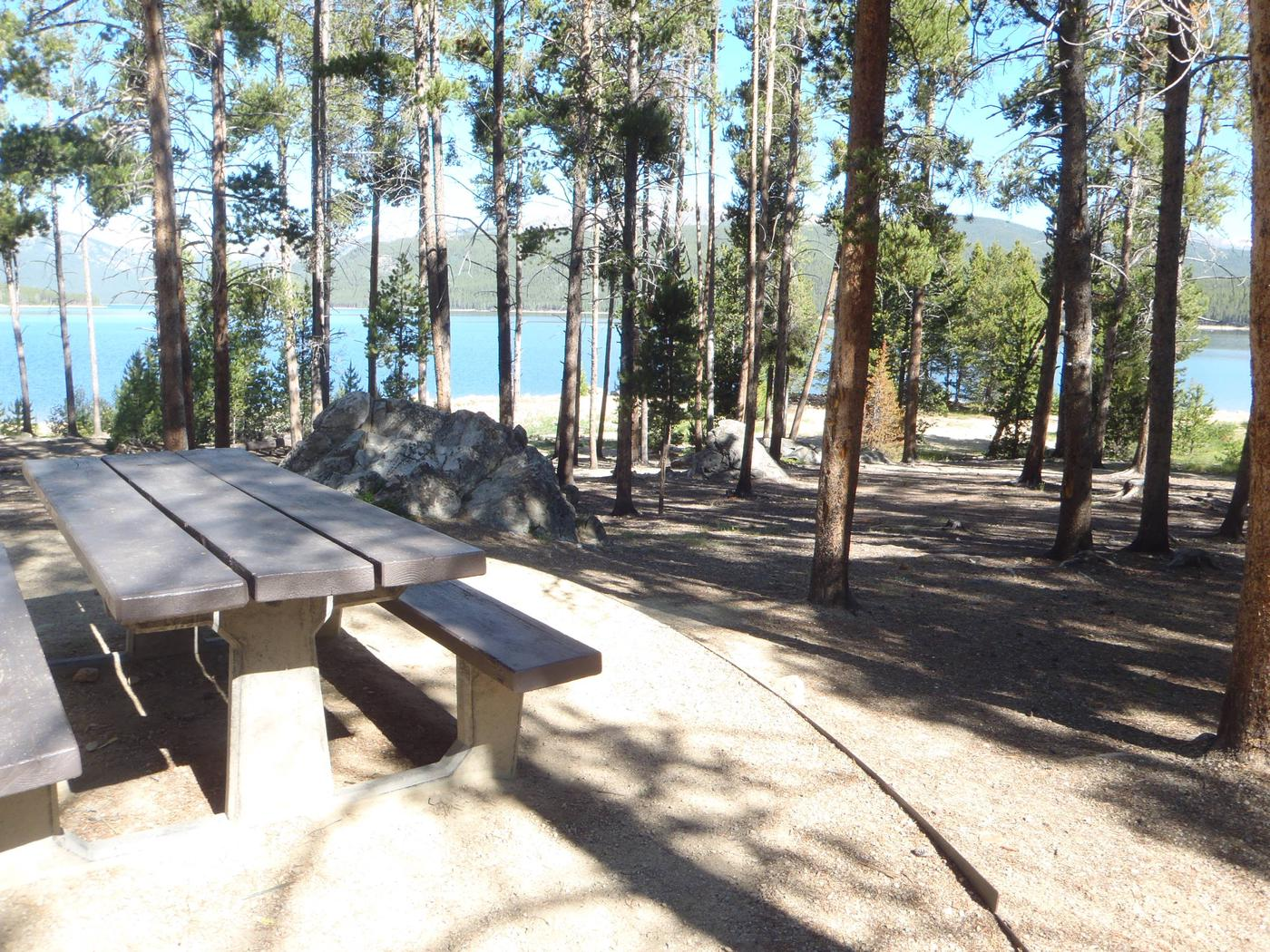 Molly Brown Campground, site 12