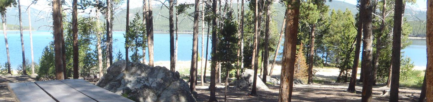 Molly Brown Campground, site 12 marker
