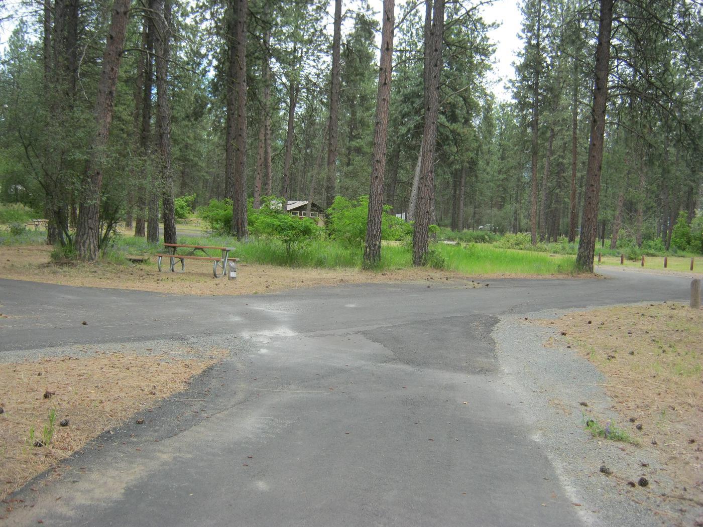Site 37 Pull ThroughPull Through, Narrow parking