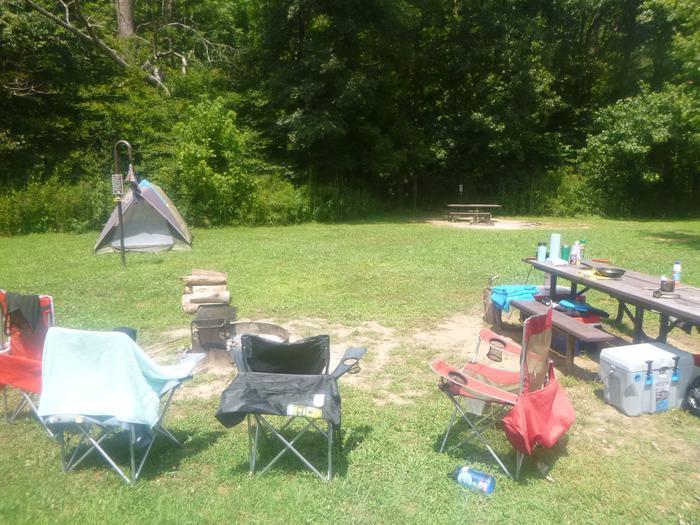 Site #16-3Steel Creek Camp Site #16
