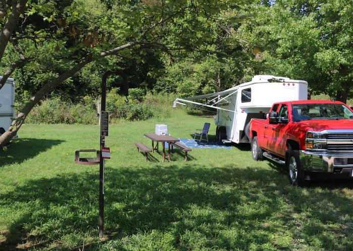 Steel Creek Horse Camp Site #27-1Steel Creek Horse Camp Site #27
