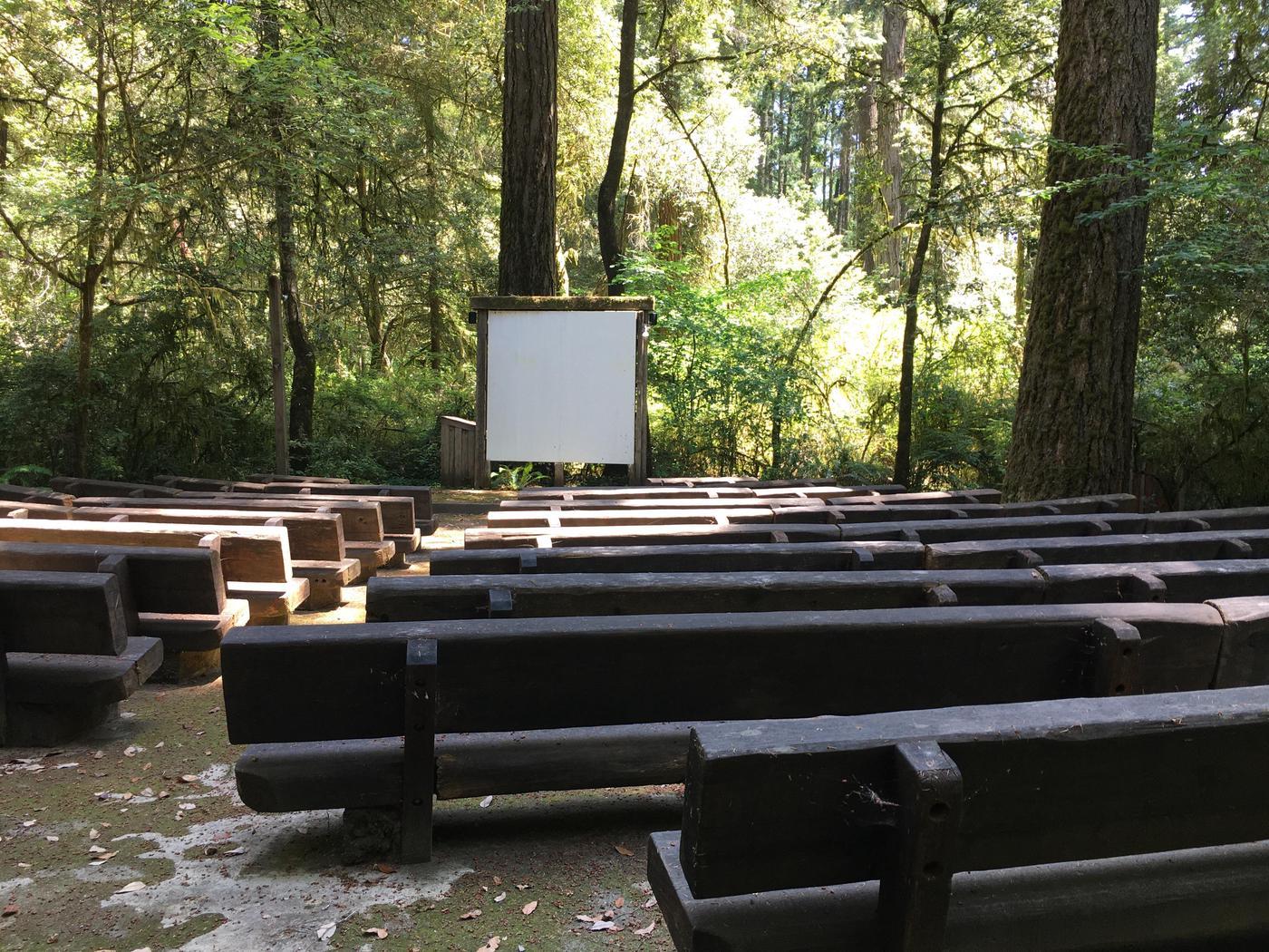 Jedediah Smith Campground ampitheater