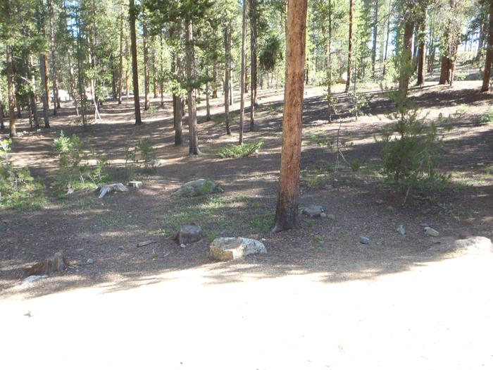Molly Brown Campground, site 27 view 5