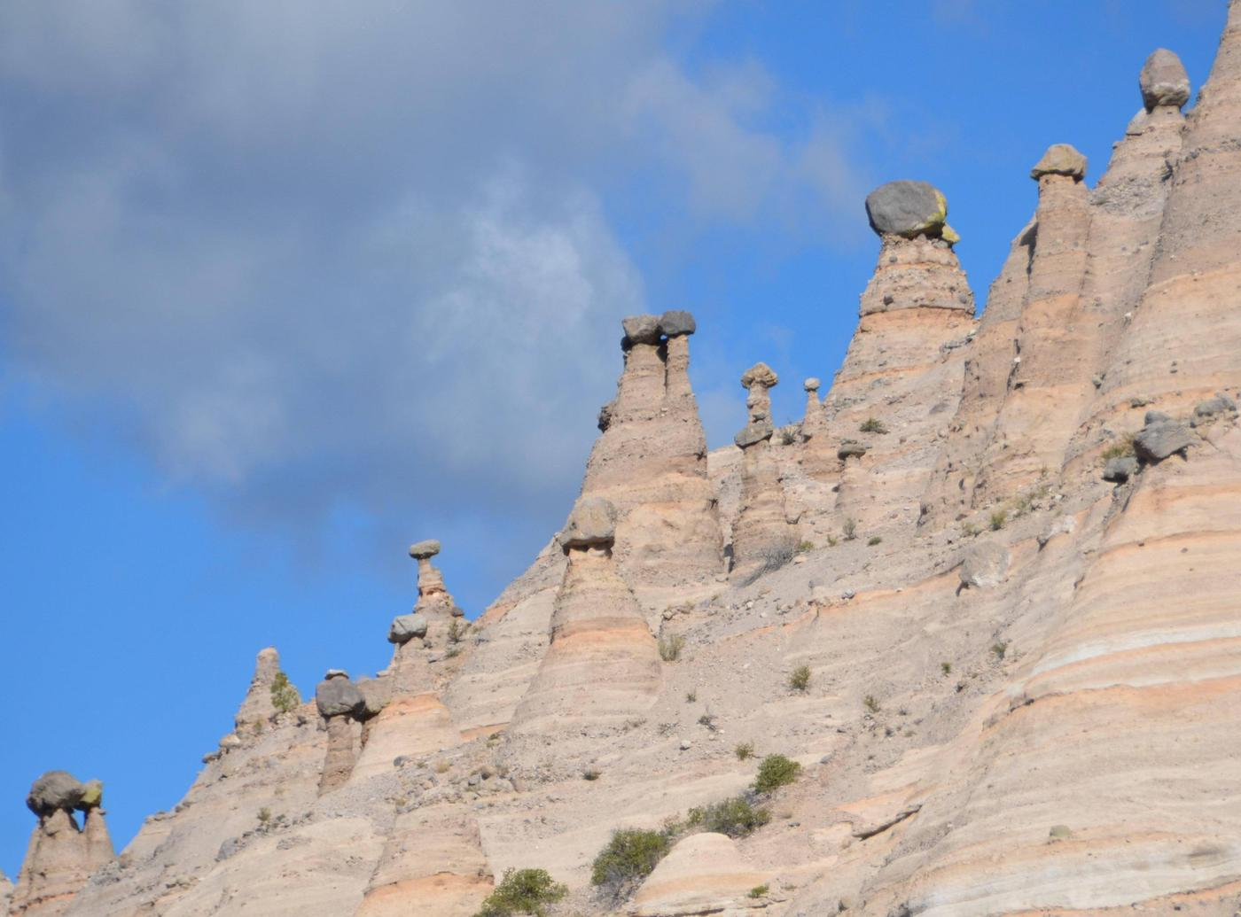 Hoodoos along the horizon