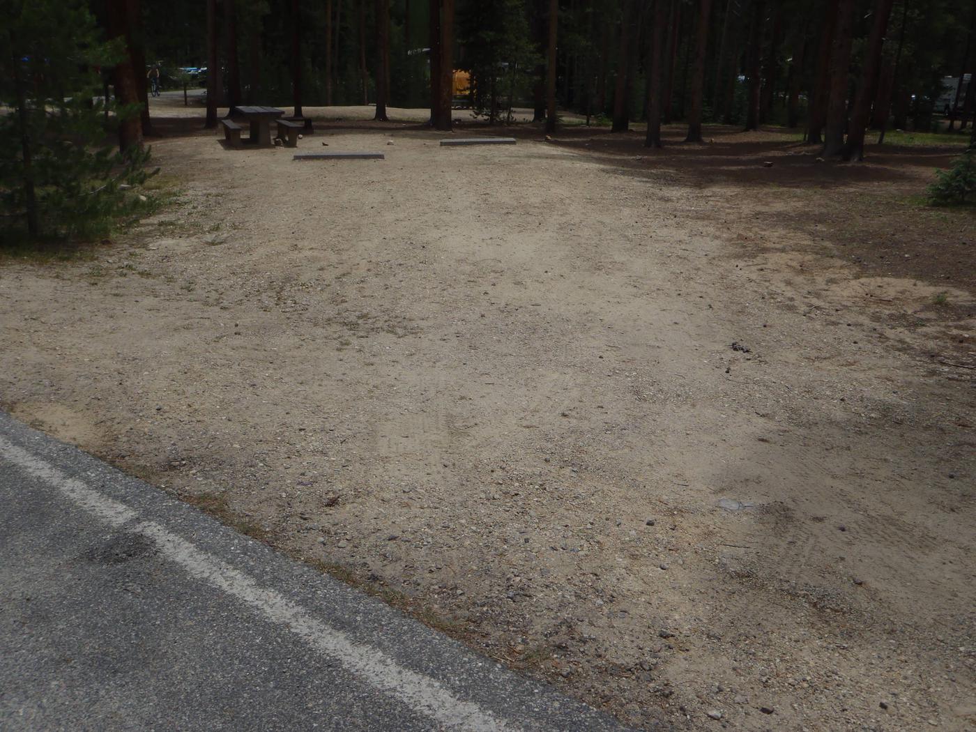 Molly Brown Campground, site 28 parking 5