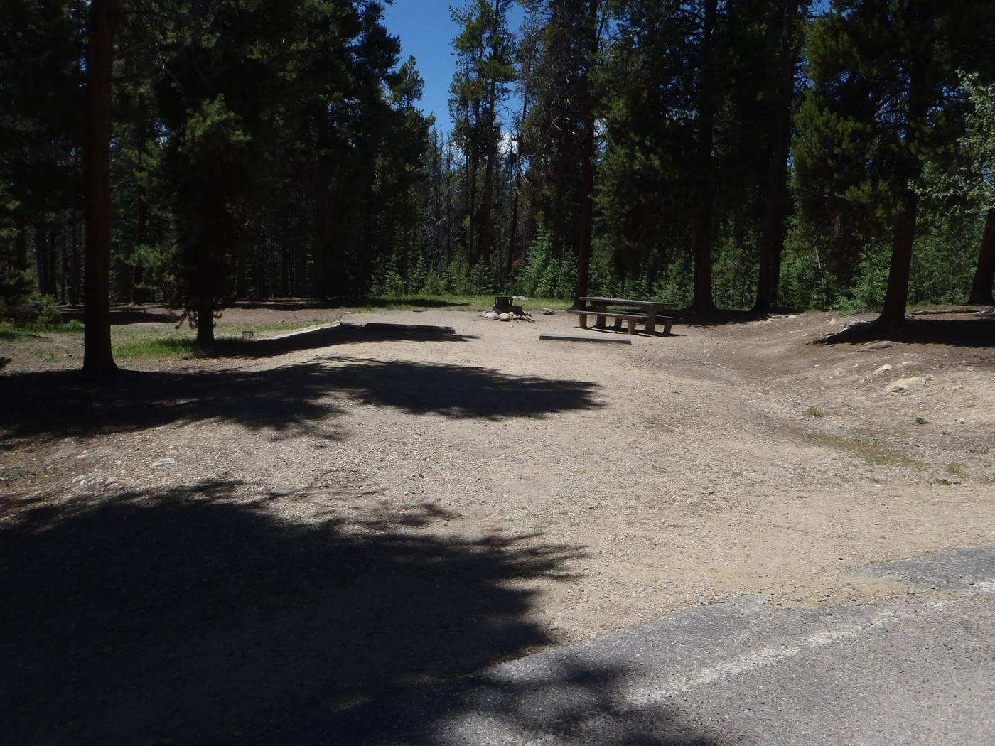 Molly Brown Campground, site 36 parking 4