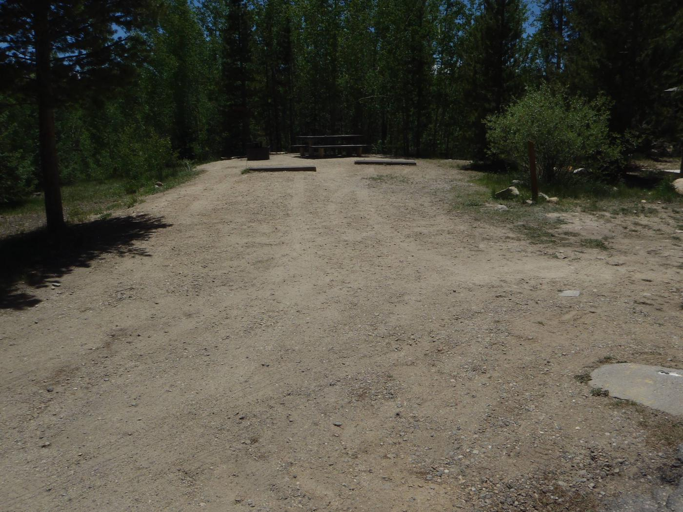 Molly Brown Campground, site 38 parking 5