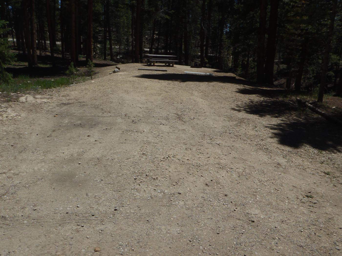 Molly Brown Campground, site 46 parking 4