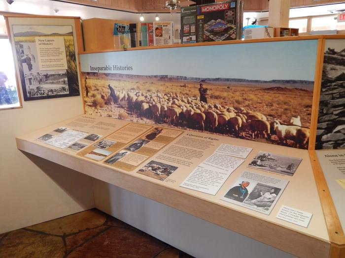 Interior ExhibitsThe National Park Service strives to interpret the whole history of a place, including the difficult subjects.