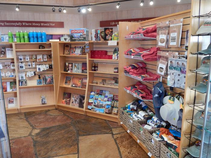 WNPA Park StoreThe Western national Parks Association operates a non-profit store inside the Visitor Center. All sales directly benefit the monument.