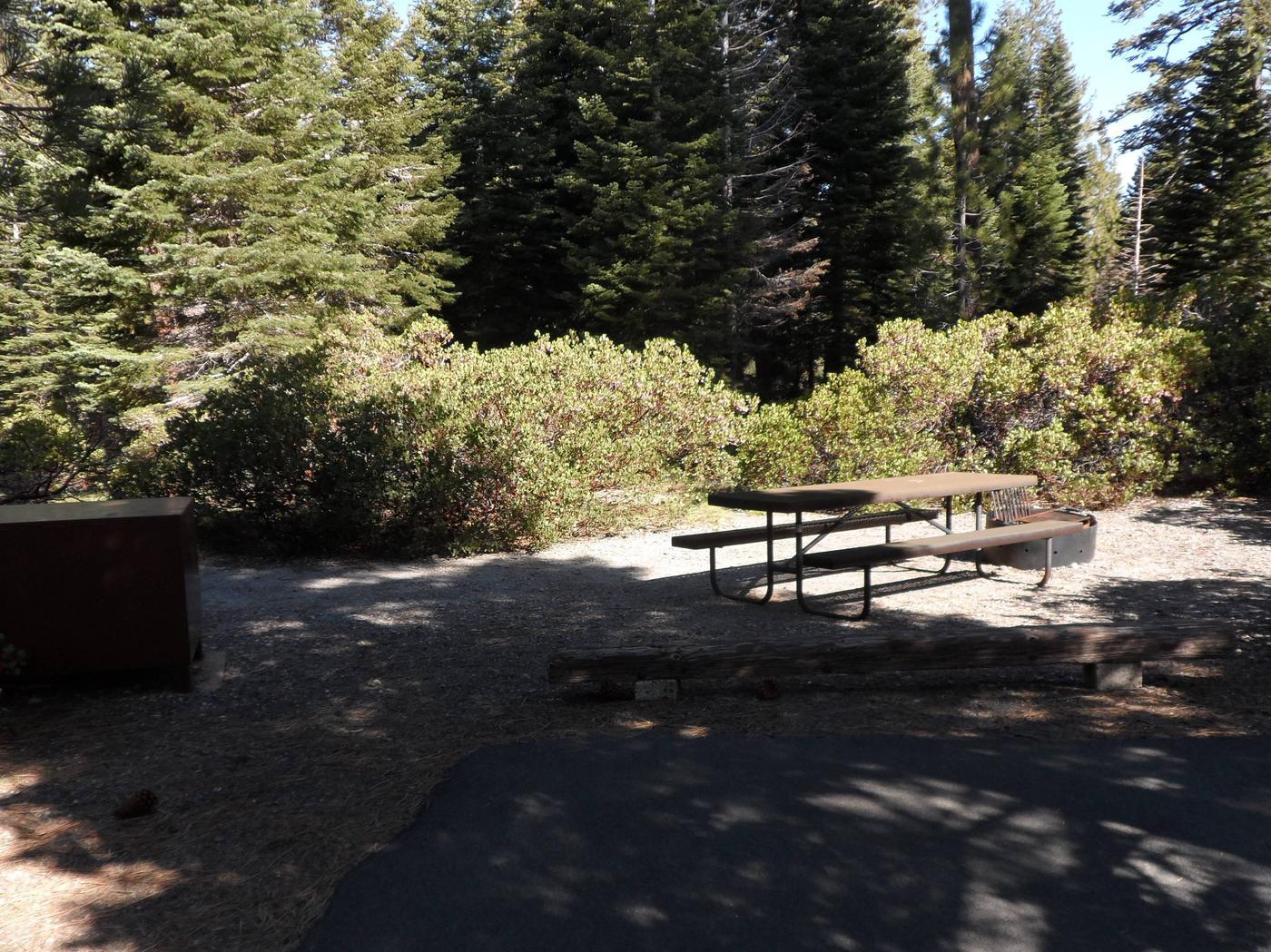D1Manzanita Lake Campground, Loop D, Site D1