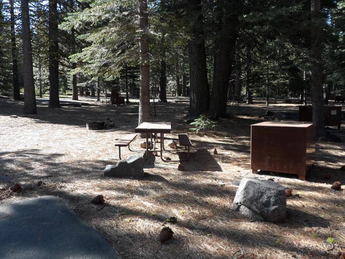 D2Manzanita Lake Campground, Loop D, Site D2