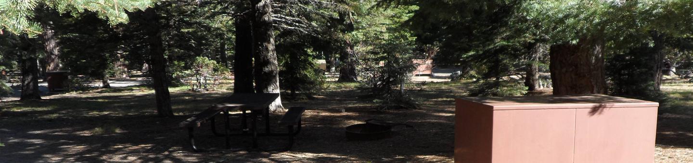 D4Manzanita Lake Campground, Loop D, Site D4