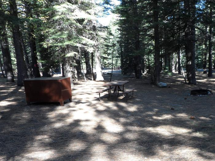 D7Manzanita Lake Campground, Loop D, Site D7